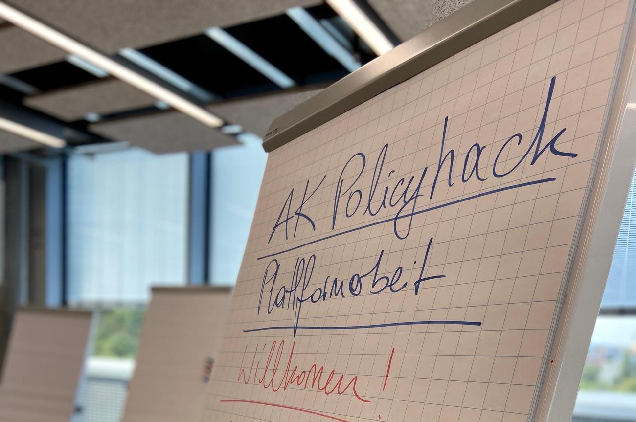 AK Policyhack Plattformarbeit © AK Wien